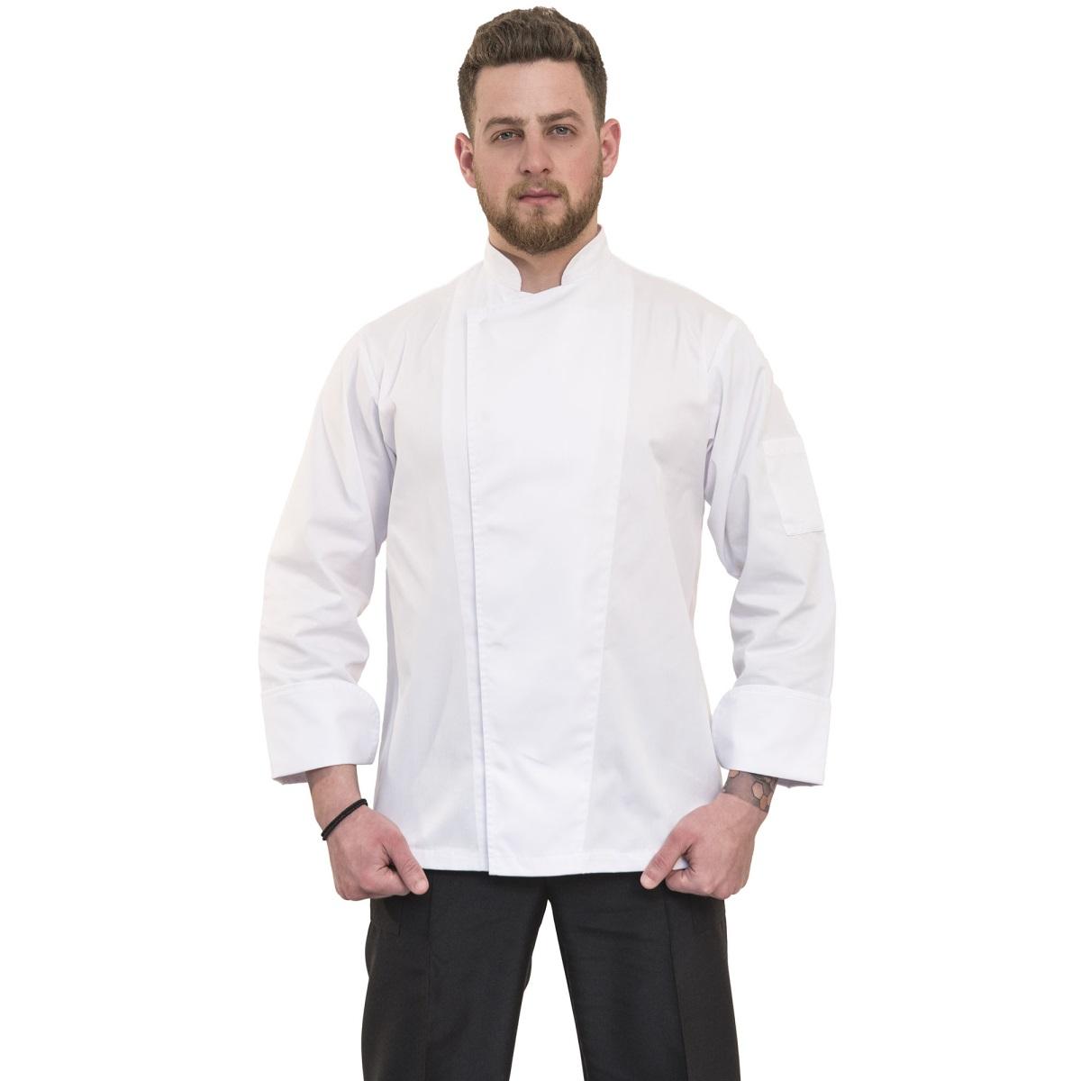 μπλουζα μαγειρα-σεφ λευκη