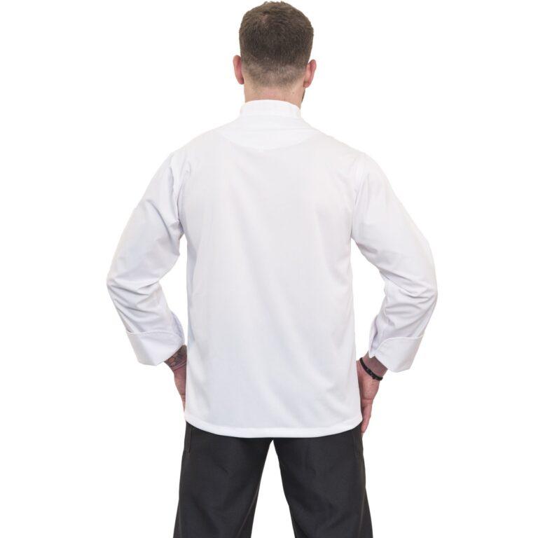 σακακι μαγειρα λευκο