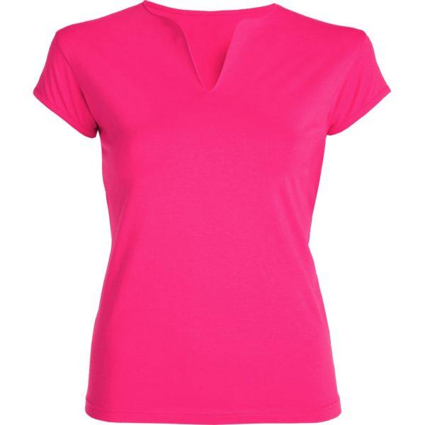 εφαρμοστο γυναικειο μπλουζακι λαιμοκοψη