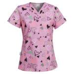 Γυναικεία Ιατρική Μπλούζα Hearts