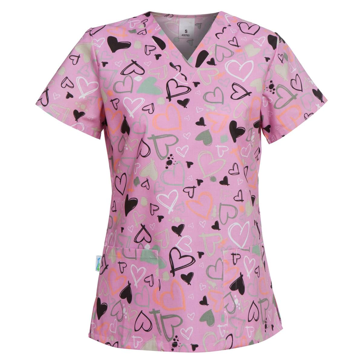 ιατρικη μπλουζα καρδιες