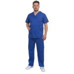Σετ Ιατρικό V Ανδρικό Μπλε Ρουά