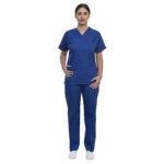 Σετ Ιατρικό V Γυναικείο Μπλε Ρουά
