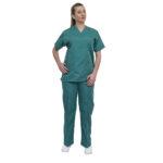 Σετ Ιατρικό V Γυναικείο Πράσινο