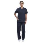 Σετ Ιατρικό V Γυναικείο Navy Blue