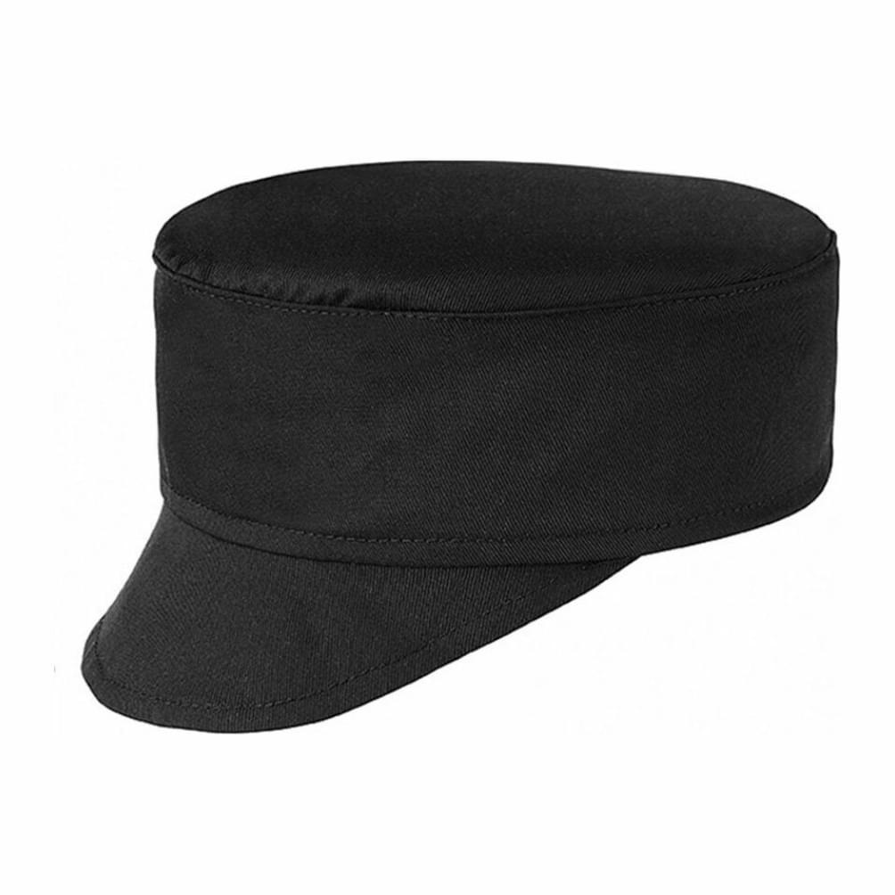 Καπέλο για μάγειρα/σεφ egochef μαύρο